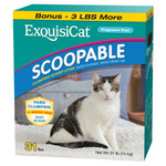 ExquisiCat Scoopable Cat Litter