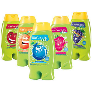 Avon Naturals Kids Body Wash & Bubble Bath