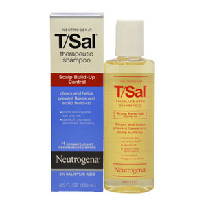 Johnson & Johnson Neutrogena T/Sal Therapeutic Shampoo Scalp Build Up Control