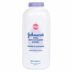 Johnson's Pure Cornstarch Baby Powder - Lavender & Chamomile