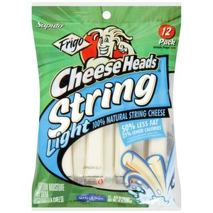 Frigo Cheese Heads Light String Cheese
