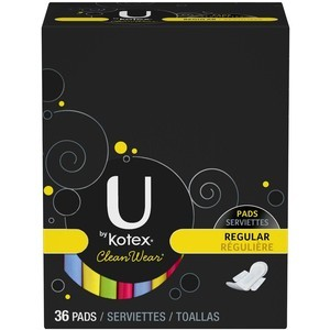 U by Kotex Cleanwear Pads