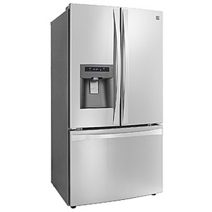 Beau Kenmore Elite 33 Cu. Ft. French Door Refrigerator
