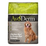 AvoDerm Chicken Meal & Brown Rice Formula Senior Dog Food