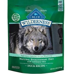 Blue Buffalo Wilderness Adult Duck Recipe Dry Dog Food
