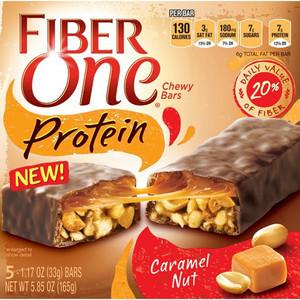 Fiber One Protein Bars   Caramel Nut