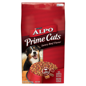 Purina Alpo Prime Cuts Savory Beef Flavor Dry Dog Food