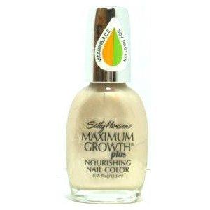 Sally Hansen Maximum Growth Plus Nourishing Nail Color - All Shades
