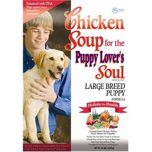 Chicken Soup for the Puppy Lover's Soul Large Breed Puppy Formula Dry Dog Food
