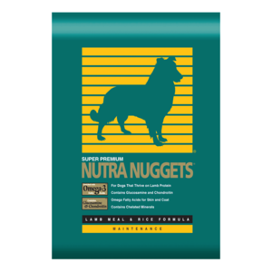 Nutra Nuggets Lamb Meal & Rice Formula Dry Dog Food