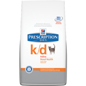 Hill's Prescription Diet k/d Feline Renal Health Dry Cat Food