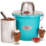 Nostalgia Electrics Plastic Bucket Ice Cream Maker