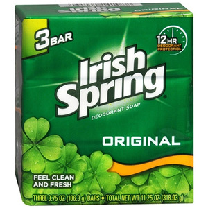 Irish Spring Deodorant Soap - Original