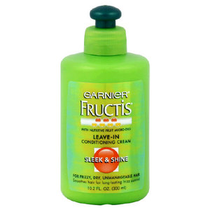 Garnier Fructis Sleek & Shine Leave-In Conditioning Cream