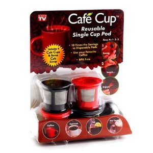 Cafe Cup Reusable Single Cup Pod