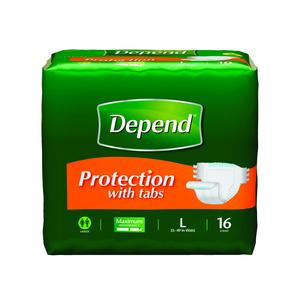 Depend Protection with Tabs