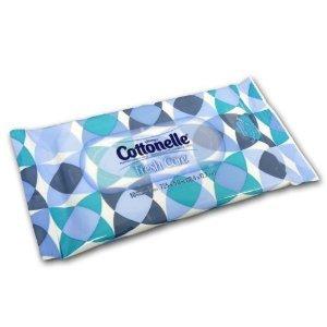 Cottonelle Fresh Care Flushable Wipes Travel Packs