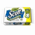 Scott Naturals Flushable Wipes