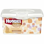 Huggies Soft Skin Shea Butter Baby Wipes