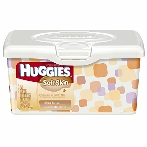 Huggies Soft Skin Shea Butter Baby Wipes