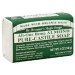 Dr. Bronner's Organic Bar Soap - Almond