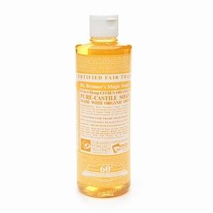 Dr. Bronner's Pure Castile Liquid Soap - Citrus Orange