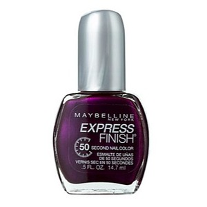 Maybelline Express Finish Nail Polish - Plum Intense