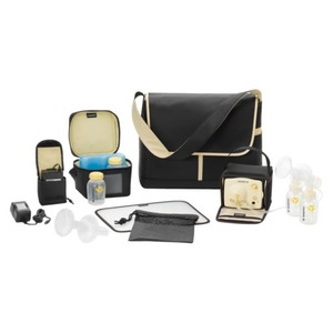 Medela Pump In Style & Advanced Double Electric Breast Pump - The Metro Bag