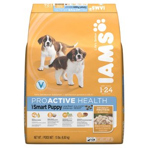 Iams Proactive Health Smart Puppy Large Breed Dry Dog Food Reviews