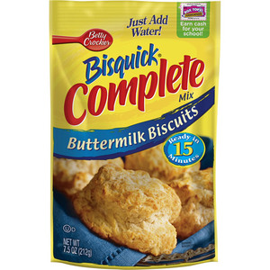 Betty Crocker Bisquick Complete Buttermilk Biscuit Mix