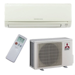 Mitsubishi Electric Wall-Mounted Split System Air Conditioner