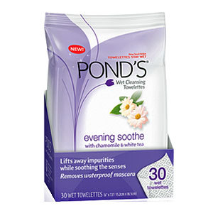 Pond's Evening Soothe Wet Cleansing Towelettes
