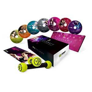 Zumba Exhilarate Body Shaping System DVD Set