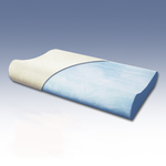 BedInABox.com CoolRest GEL Memory Foam Contour Pillow