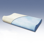 BedInABox.com Serenity Gel Memory Foam Contour Pillow
