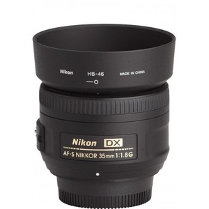 Nikon AF-S DX Nikkor 35mm f/1.8G Wide Angle Lens for Nikon