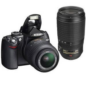 Nikon D5000 Digital Camera with 18-55mm lens