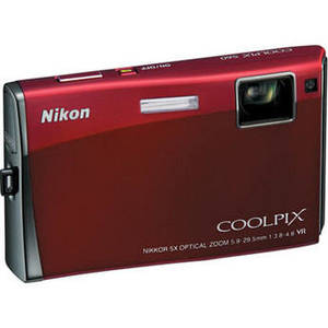 Nikon - Coolpix S60 Digital Camera