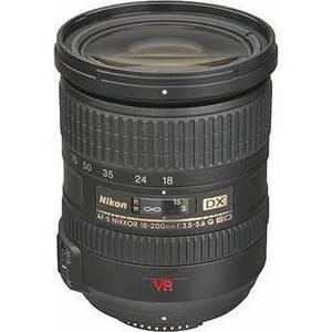 Nikon - 18-200mm f/3.5-5.6 G ED-IF AF-S VR DX Lens