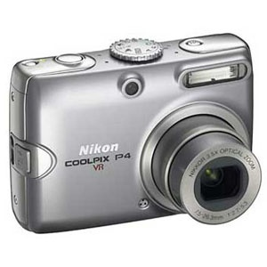 Nikon - Coolpix P4 Digital Camera