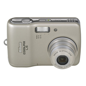 Nikon - Coolpix L6 Digital Camera