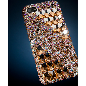 Symmetric Swarovski Crystal iPhone 5 Case