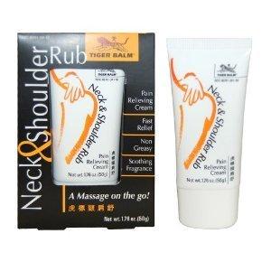 Tiger Balm Neck and Shoulder Rub 1.76 oz Cream
