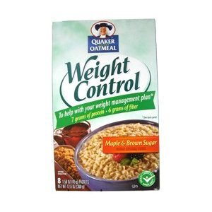 Quaker Weight Control Oatmeal