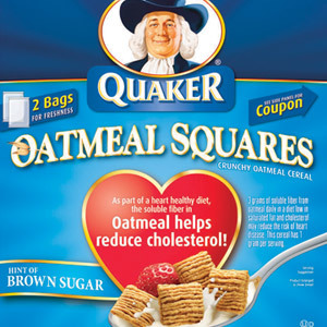 Quaker Oatmeal Squares, Brown Sugar