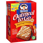 Quaker Oatmeal To Go