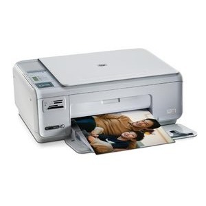 Hewlett Packard Photosmart C4380 AIO All-In-One InkJet Printer