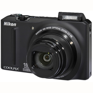 Nikon Coolpix S9100 Digital Camea
