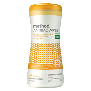 Method all-purpose cleaning + disinfecting wipes