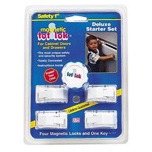Tot Lok Magnetic Cabinet Lock Deluxe Starter Set